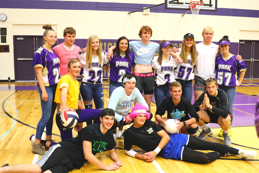 Juniors Win Iron Man Volleyball During 2018 Homecoming