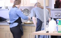 Culinary Arts eats together for Dine-in Day