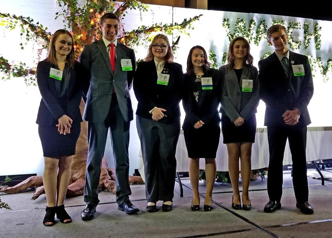 Park High junior Hannah Harshbarger was elected President of Business Professionals of America Montana Association.