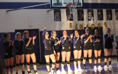 Volleyball and cross country seniors compete for the last time