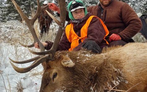 Hunting season starts with a bang