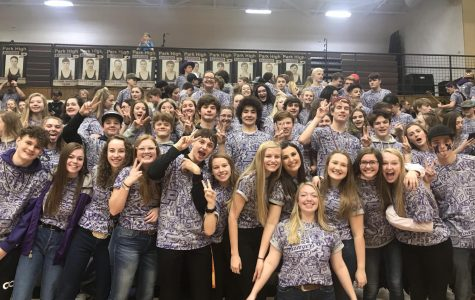Fans pack the house in purple for Ranger Rush night against Laurel